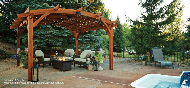 Outdoor great room company cada pools and spas of st for Great outdoor room company